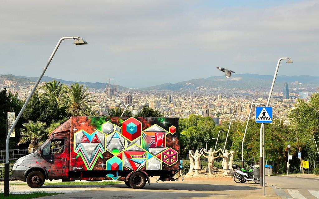 Truck, Barcelona, 2014