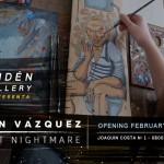 [AGENDA] Exposición de Simón Vázquez – Andén Gallery