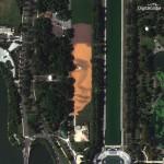 Jorge Rodriguez-Gerada Creates Massive Portrait on the National Mall. Washington DC