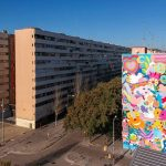 """Una mina de color"" By Zosen & Mina Hamada, Barcelona"