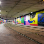 Massive new mural by Murone for Tram Barcelona