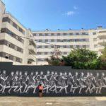 '20 METROS' – Última intervención de Teo Vázquez para Mural/Local