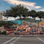 New mural by Franco Fasoli in Trinitat Nova, Barcelona
